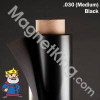 black magnetic sheeting