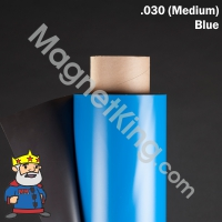 blue magnetic sheeting