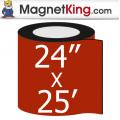 """24"""" x 25' Roll Chalkboard Magnet"""