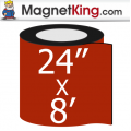 "24"" x 96"" Sheet Stainless Steel Magnet"