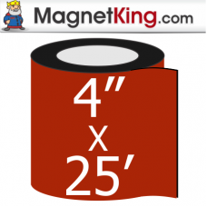 4 in. x 25' Roll Thick Peel n Stick Adhesive Magnet Tape
