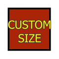Custom Size Square Thick Matte White Magnet