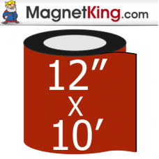 "12"" x 10' Roll Thin Plain Magnet"