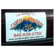 Reflective Magnetic Car Signs