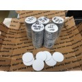 "1.5"" White Magnetic Circles, 500 pcs - FREE SHIPPING"