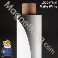 white magnetic sheeting