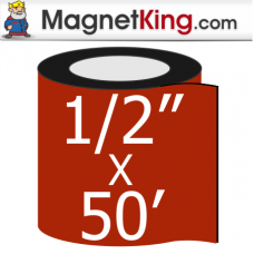 0.50 in. x 50' Roll Medium Peel n Stick Adhesive Magnet