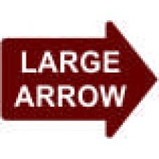 Large Arrow - 23x17 in. Magnet Die Cut