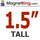 1.5 in. Tall (4)