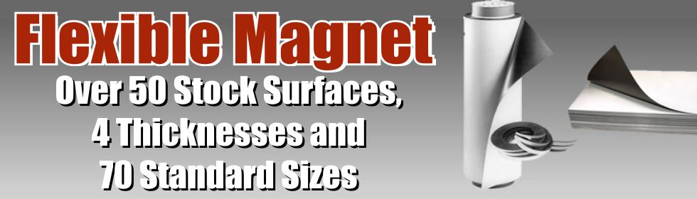 Flexible Magnet Standard Sizes