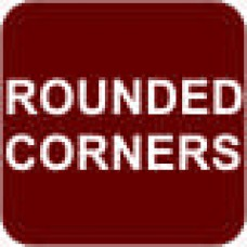 Square w/ Rounded Corners - 6x6 in. Magnet Die Cut