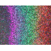"12"" x 24"" Silver Holographic Prism Foil Magnet"