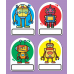 Robot Name Badge Magnets