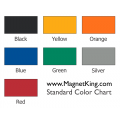 7 Standard Colors Magnet